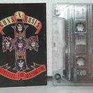 GUNS N' ROSES chile cassette APPETITE FOR DESTRUCTION Rock SPANISH PRINT BMG exc