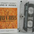 GUNS 'N ROSES peru cassette THE SPAGHETTI INCIDENT Rock SPANISH PRINT GEFFEN