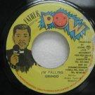 """GRINGO jamaica 45 I'M FALLING 7"""" Reggae FATHER-POW"""