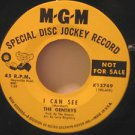 """GENTRYS usa 45 I CAN SEE/90 POUND WEAKLING 7"""" Vocal PROMO/ORIGINAL SLEEVE MGM"""