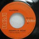 """GAZPACHO peru 45 JUGANDO AL BICHO/QUE LA DEJEN IR AL BA 7"""" Latin BEAT RCA"""