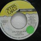 "FRISCO KID jamaica 45 GIRL PON DE SIDE 7"" Reggae XTRA-LARGE-PRODUCTIO"