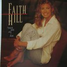 """FAITH HILL usa display TAKE ME AS I AM Country 12"""" X 12"""" DOUBLE-SIDED POSTER. TH"""