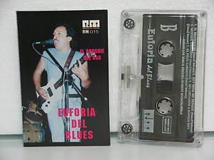 EUFORIA DEL BLUES peru cassette EL BOOGUIE DEL OSOS Rock SPANISH PRINT RM excell