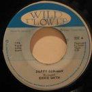 """ERNIE SMITH jamaica 45 DUPPY GUN MAN/VERSION 7"""" Reggae WILD FLOWER"""