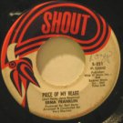 """ERMA FRANKLIN usa 45 PIECE OF MY HEART 7"""" Soul SMALL WRITING ON LABEL/BABY WHAT"""