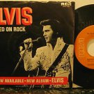 "ELVIS PRESLEY usa 45 RAIDES ON ROCK 7"" PICTURE SLEEVE RCA"