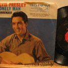 "ELVIS PRESLEY usa 45 LONELY MAN/SURRENDER 7"" Rock PICTURE SLEEVE RCA"