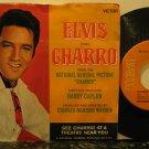 "ELVIS PRESLEY usa 45 CHARRO 7"" Rock PICTURE SLEEVE RCA"