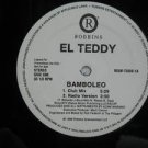 "EL TEDDY usa 12"" BAMBOLEO Dj WHITE JACKET ROBBINS"