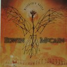 """EDWIN usa display McCAIN 12"""" X 12"""" DOUBLE-SIDED POSTER. THIS IS NOT AN LP OR CD"""