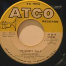 """DONNY HATHAWAY usa 45 THE GHETTO 7"""" Vocal ATCO"""