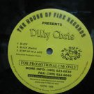 "DILLY CHRIS usa 12"" SLICK & STEP UP IN A LIFE Dj WHITE JACKET THE-HOUSE-OF-FIRE"