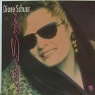 "DIANE SCHUUR usa display LOVE SONGS Jazz 12"" X 12"" DOUBLE-SIDED POSTER. THIS IS"