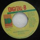 "DETERMINE jamaica 45 WELCOME SHAKA ZULU 7"" Reggae DIGITAL-B"