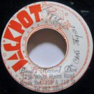 """DELROY jamaica 45 CAN'T STOP ME 7"""" Reggae STAMP ON LABEL JACKPOT"""