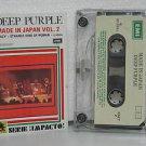 DEEP PURPLE peru cassette MADE IN JAPAN VOL.2 Rock SPANISH PRINT EMI excellent