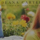"""DEANA CARTER usa display DID I SHAVE MY LEGS FOR THIS 12"""" X 12"""" DOUBLE-SIDED POS"""