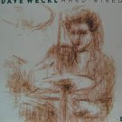 """DAVE WECKL usa display HARD WIRED 12"""" X 12"""" DOUBLE-SIDED POSTER. THIS IS NOT AN"""