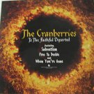 """CRANBERRIES usa display TO THE FAITHFUL DEPARTED Rock 12"""" X 12"""" DOUBLE-SIDED POS"""