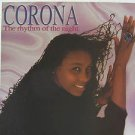 """CORONA usa display THE RHYTHM OF THE NIGHT 12"""" X 12"""" DOUBLE-SIDED POSTER. THIS I"""