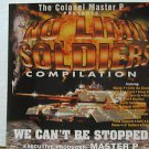 "COLONEL MASTER P usa display NO LIMIT SOLDIERS 12"" X 12"" DOUBLE-SIDED POSTER. TH"