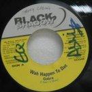"COBRA jamaica 45 WAH HAPPEN TO DAT 7"" Reggae BLACK-SHADOW-RECORDS"
