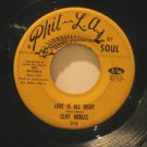 """CLIFF NOBLES usa 45 LOVE IS ALL RIGHT/THE HORSE 7"""" Soul PHIL-L.A."""