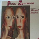 """CLAUS OGERMAN usa display MICHAEL BRECKER 12"""" X 12"""" DOUBLE-SIDED POSTER. THIS IS"""