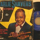 """CHARLIE SHAVERS spain EP FRENESI+3 7"""" Jazz HARD COVER PICTURE SLEEVE EVEREST"""