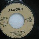 """CHARLIE PALMIERI peru 45 LA LLAVE Y EL CANDAO 7"""" Latin ALEGRE"""