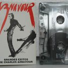 CHARLES AZNAVOUR bolivia cassette GRANDES EXITOS French EMI excellent