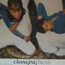 "CHANGING FACES usa display ALL DAY ALL NIGHT 12"" X 12"" DOUBLE-SIDED POSTER. THIS"