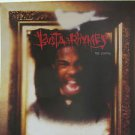 "BUSTA RHYMES usa display THE COMING Dj 12"" X 12"" DOUBLE-SIDED POSTER. THIS IS NO"