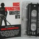 BRUCE SPRINGSTEEN peru cassette GREATEST HITS Rock SPANISH PRINT SONY