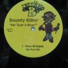 "BOUNTY KILLER usa 12"" MR TEAR N BOAR Dj WHITE JACKET MASSIVE-B"