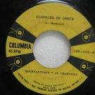 "BOUFFARTIQUE peru 45 GUAPACHA EN ORBITA/CHARANGA EN P RICO 7"" Latin COLUMBIA"