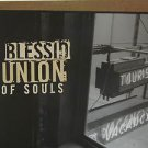 """BLESSID usa display UNION OF SOULS 12"""" X 12"""" DOUBLE-SIDED POSTER. THIS IS NOT AN"""