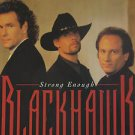 """BLACKHAWK usa display STRONG ENOUGH 12"""" X 12"""" DOUBLE-SIDED POSTER. THIS IS NOT A"""