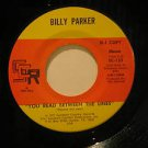 "BILLY PARKER usa 45 YOU READ BETWEEN THE LINES 7"" Vocal PROMO SCR"