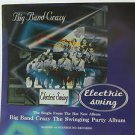 """BIG BAND CRAZY usa display ELECTRIC SWING 12"""" X 12"""" DOUBLE-SIDED POSTER. THIS IS"""