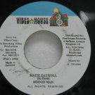 "BEENIE MAN jamaica 45 MATIE PAYROLL 7"" Reggae VIBES-HOUSE"