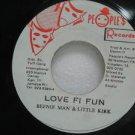 "BEENIE MAN jamaica 45 LOVE FI FUN 7"" Reggae PEOPLE'$-RECORDS"