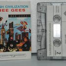 BEE GEES peru cassette HIGH CIVILIZATION Pop WB excellent
