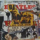 """BEATLES usa display ANTHOLOGY II Rock 12"""" X 12"""" DOUBLE-SIDED POSTER. THIS IS NOT"""