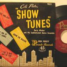 """BARRY WINTON usa EP SHOW TUNES/NIGHT AND DAY+3 7"""" Vocal HARD COVER PICTURE SLEEV"""