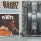 BARRY WHITE peru cassette GRANDES EXITOS Pop POLYGRAM excellent