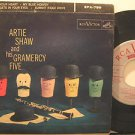 """ARTIE SHAW usa EP AND HIS GRAMERCY FIVE 7"""" Jazz HARD COVER/TAPE ON SEAMS RCA"""