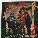 "ANOTHER BAD CREATION usa display COOLIN' AT THE PLAYGROUND 12"" X 12"" DOUBLE-SIDE"