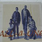 "ALL 4 ONE usa display S/T SELF SAME UNTITLED 12"" X 12"" DOUBLE-SIDED POSTER. THIS"